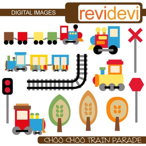 570x570 Choo Choo Train Parade Clipart 07276