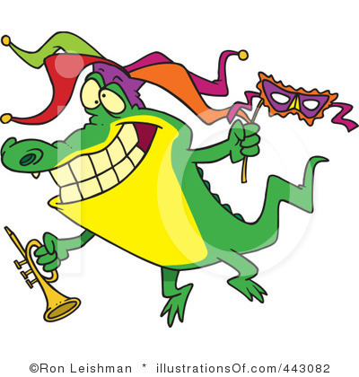 400x420 Mardi Gras Parade Clipart Collection