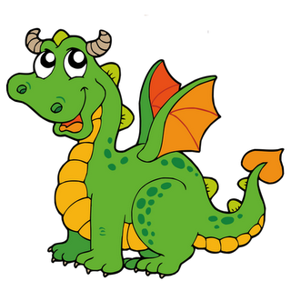 320x320 Cartoon Dragon Posted By Graphics Paradise