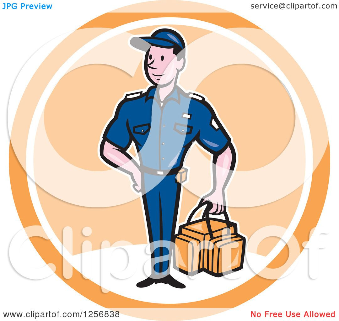 1080x1024 Clipart Of A Happy Paramedic Man With A First Aid Kit In A White