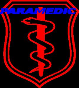 267x299 Paramedic Badge Clip Art