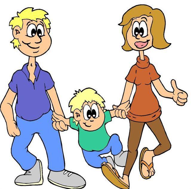 640x635 Clip Art Parents Cartoon Image Clipart Panda