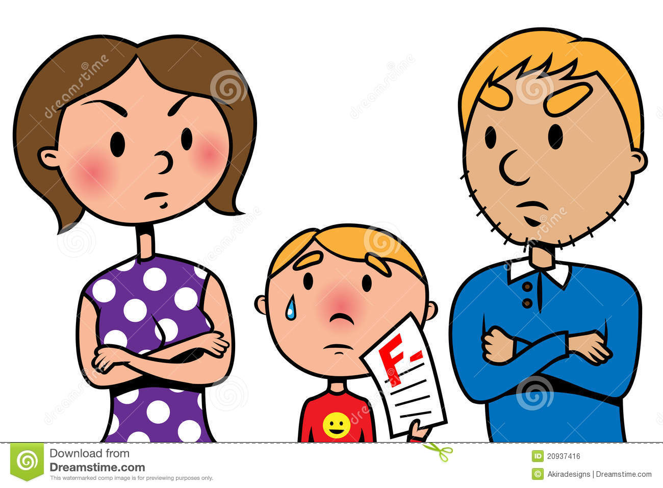 1300x957 Emotional Clipart Angry Father