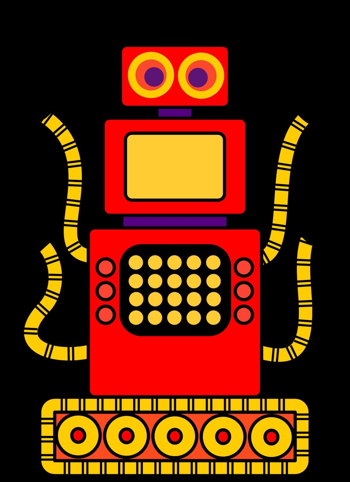 1162x1600 Free Robot Clip Art For Classrooms, Teachers And Parents