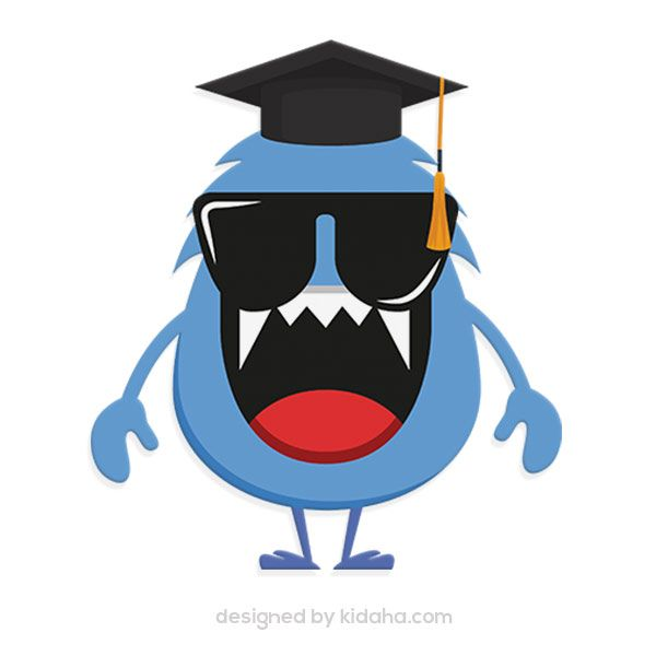 600x600 Id M223 Monster Student Free Education Clip Arts For Kids