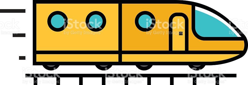 1024x350 Subway Clipart Vector'59937