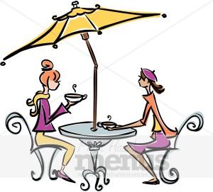 300x271 Paris Cafe Free Clipart