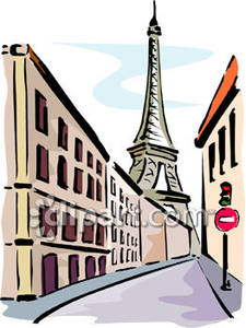 225x300 Shining Design Clipart Paris Eiffel Tower From The Streets