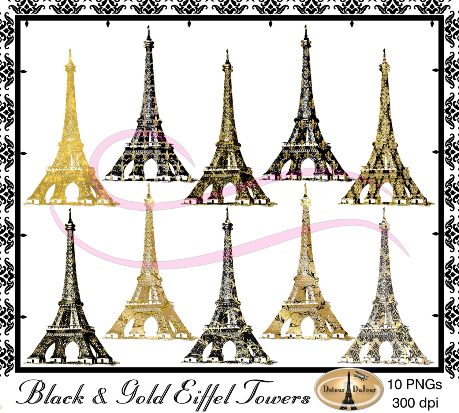 Paris Eiffel Tower Clipart