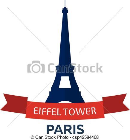 435x470 Plat, Eiffel, 14, Moderne, Paris., Day., July., France., Clip
