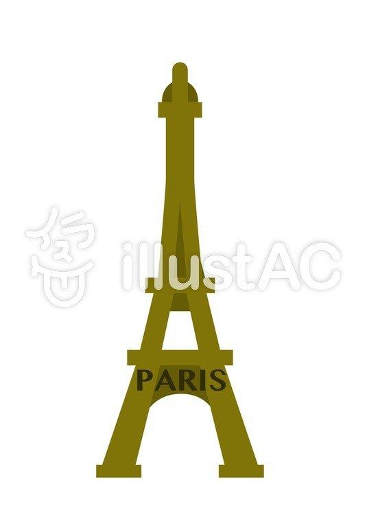 535x750 Cliparts Gratis Emas, Menara Eiffel, Menara, Paris, Ilustrasi