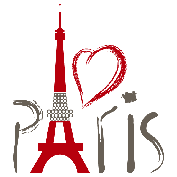 600x600 I Love Paris In The Spring Time , Anytime Xxox Vinilos Decorativos