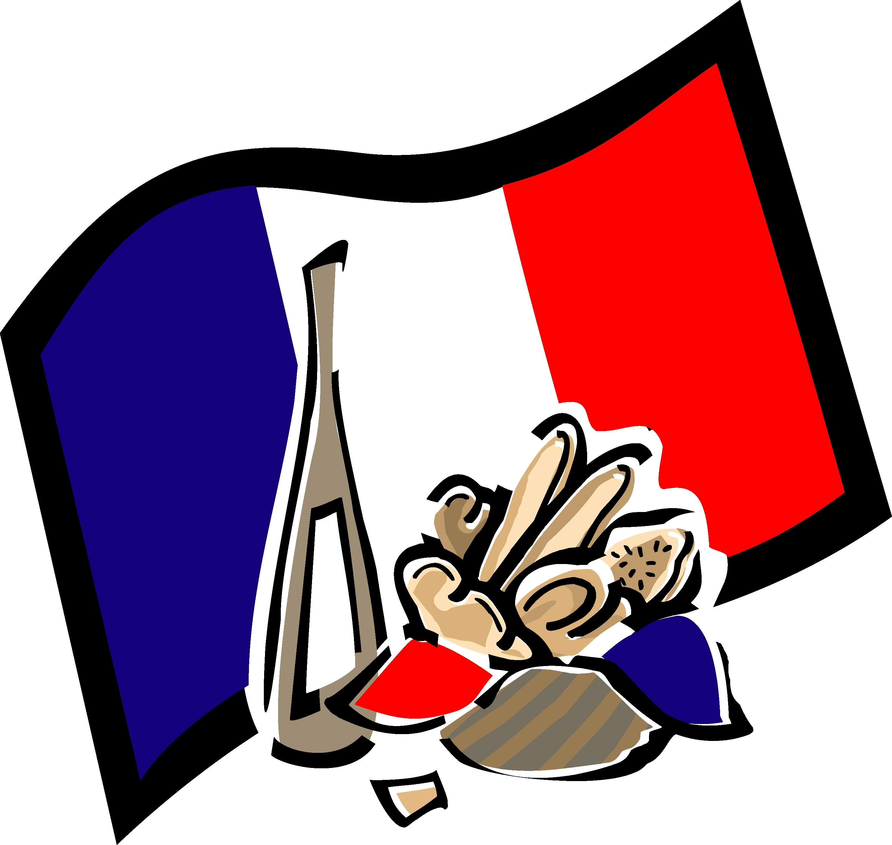 2999x2842 Unique French Clipart Collection