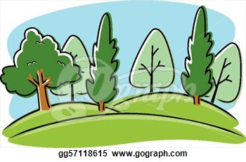 350x231 Park Black And White Clipart