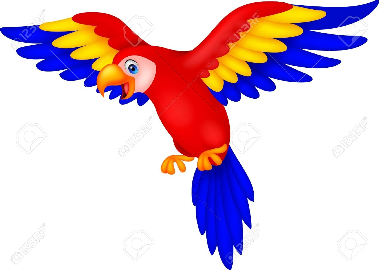 1300x925 Unique Parrot Clipart Gallery