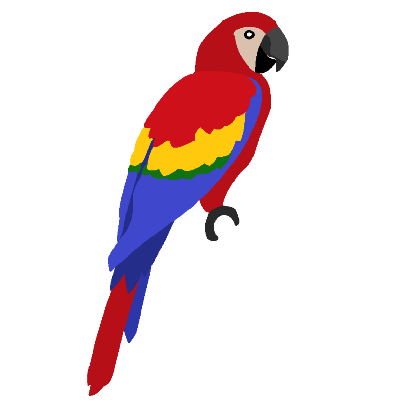 800x800 Parrot Clipart The Top 5 Best Blogs On Green Parrot Clip Art