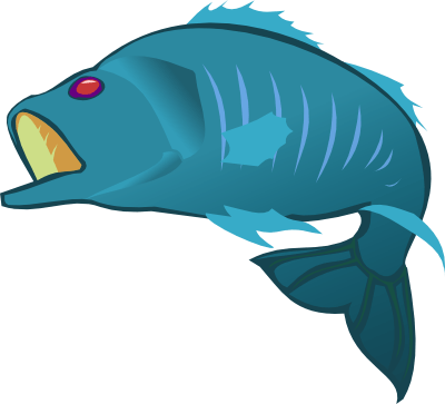 Parrot fish clipart at getdrawings free for personal use 400x363 big fish cliparts thecheapjerseys Choice Image