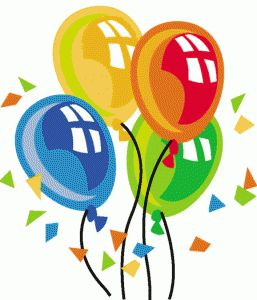 257x300 18 Best Balloon Clip Art Images On Happy Birthday