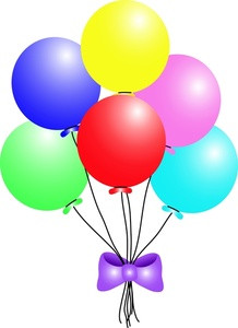 party balloons clipart at getdrawings com free for personal use rh getdrawings com free clip art balloons free clip art balloons borders