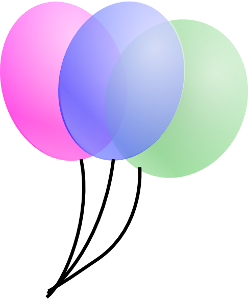 486x586 Image Of Birthday Balloons Clipart