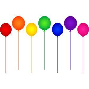 300x300 Rainbow Graphics Printables Seven Rainbow Birthday Party