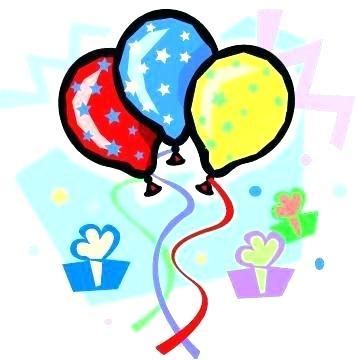 357x360 Balloons Images Clip Art Clip Art Of Red Balloons Air Balloon