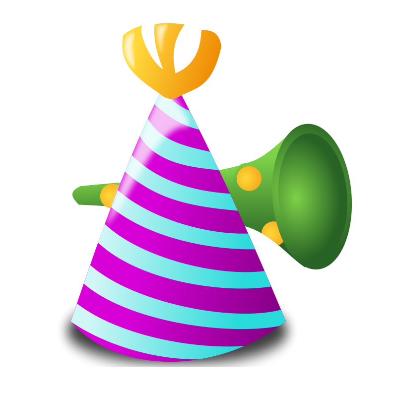 800x800 Image Of Birthday Hat Clipart