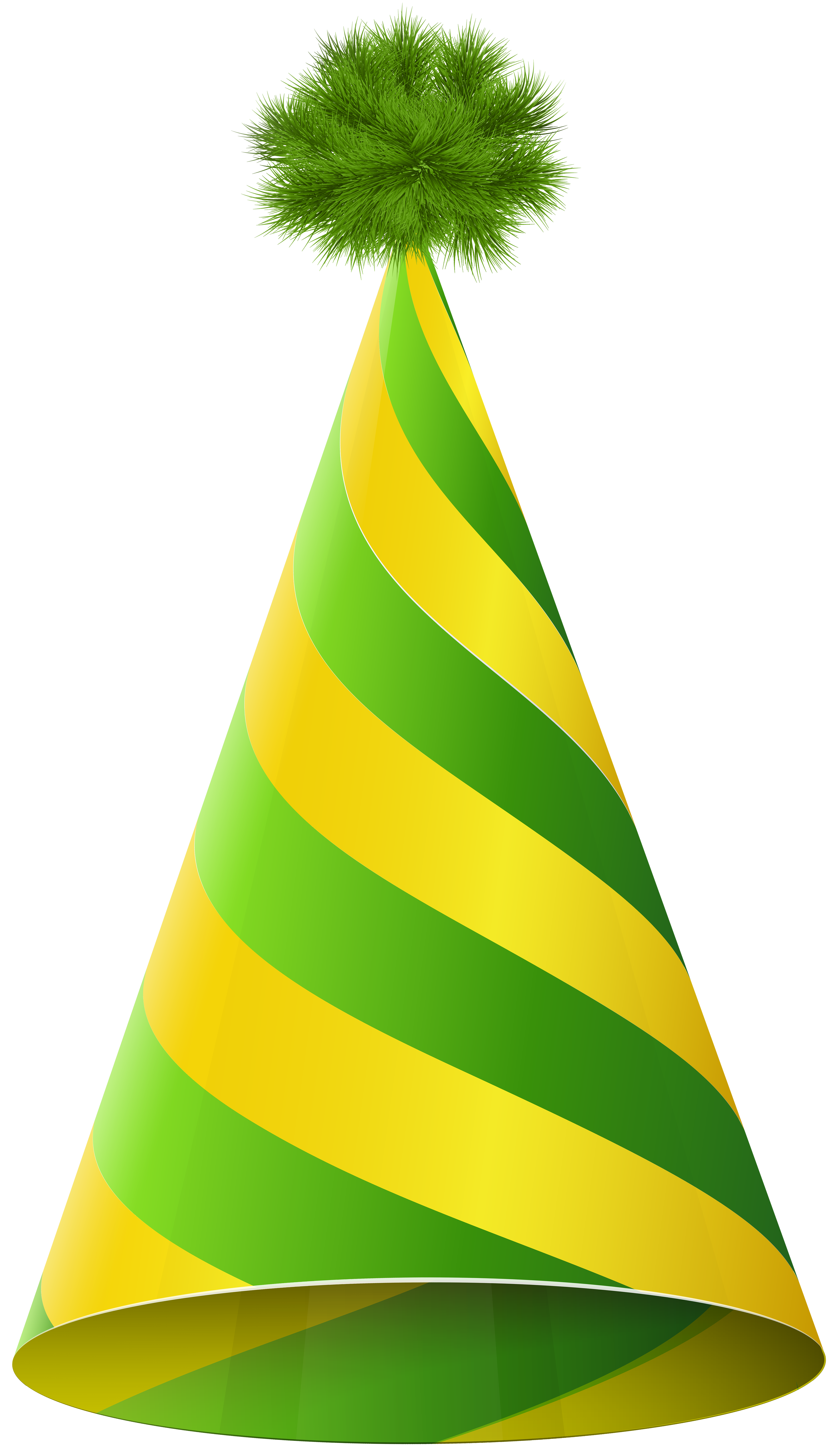 4616x8000 Party Hat Green Yellow Transparent Png Clip Art Imageu200b Gallery