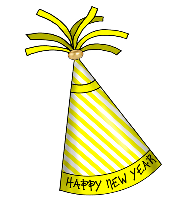 591x683 Party Hat New Year Clip Art Merry Christmas And Happy New Year 2018