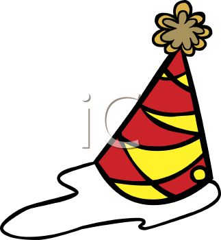 323x350 Royalty Free Clipart Image Party Hat