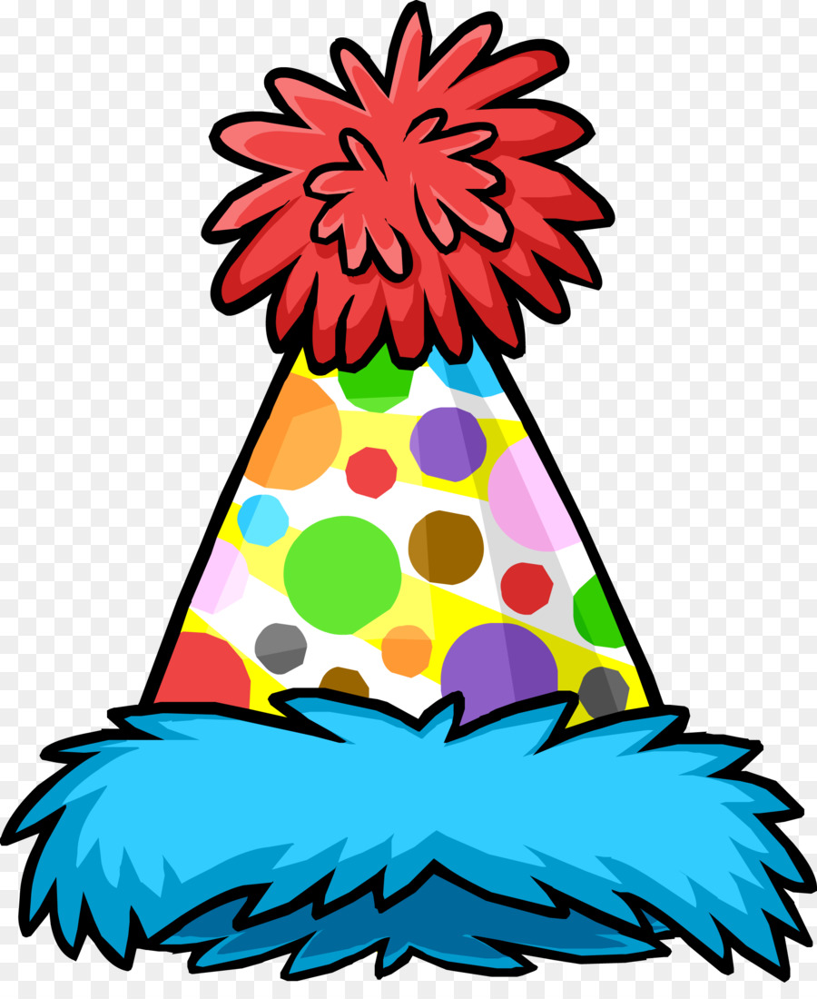 900x1100 Club Penguin Party Hat Clip Art