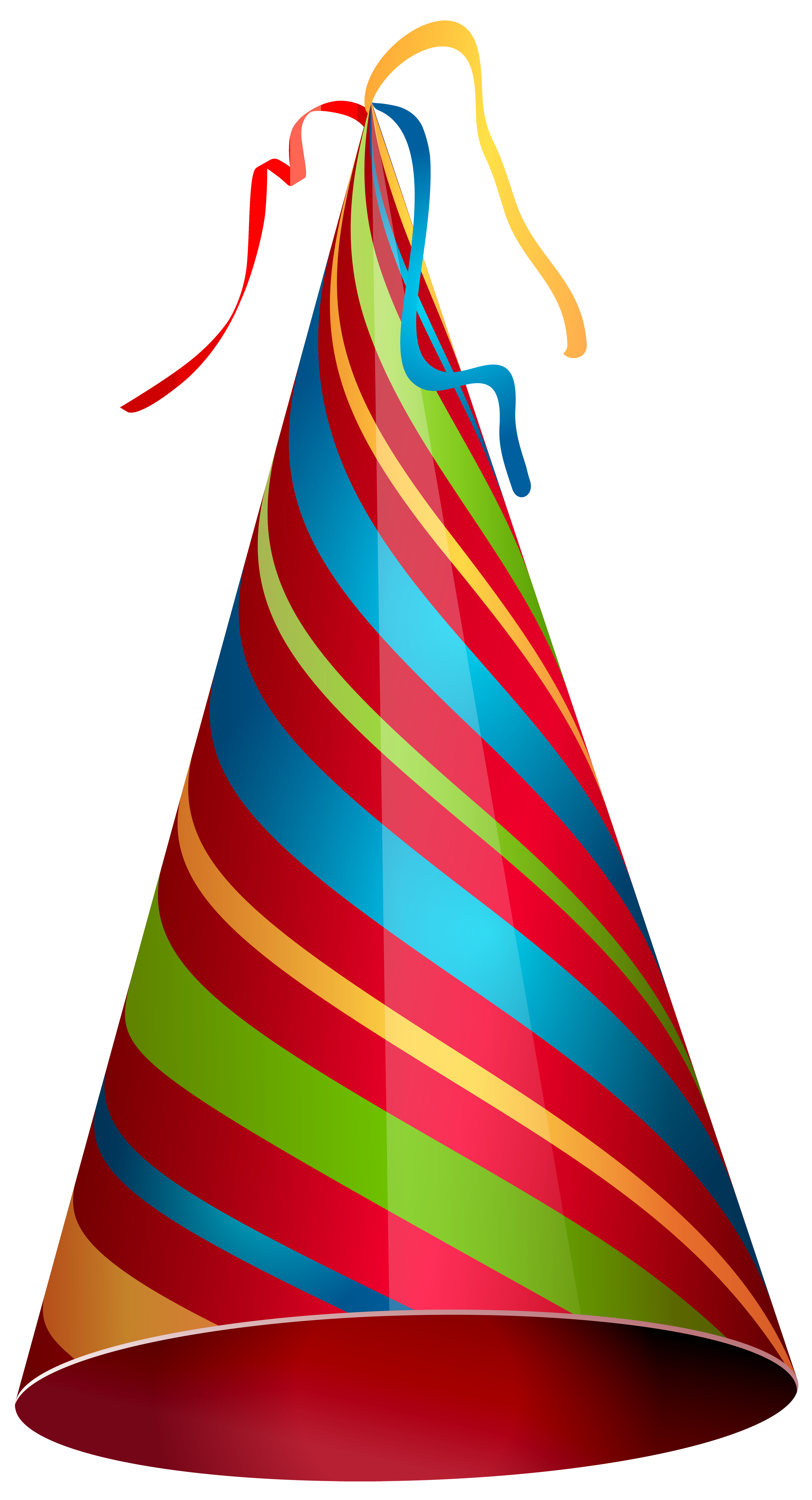 4333x8000 Colorful Party Hat Transparent Png Clip Art Imageu200b Gallery