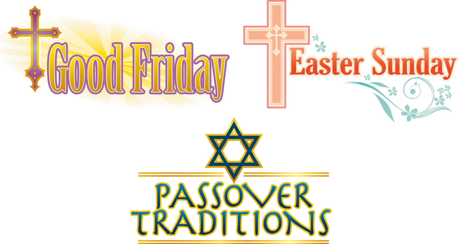 1753x934 Easter Clipart Religious