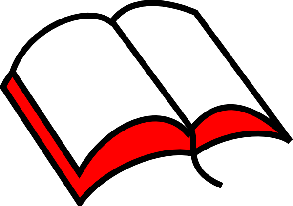 600x423 Open Bible Clip Art 5