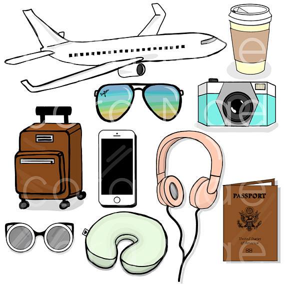 570x570 Travel Clipart 10 PNG Files Transparent Background 300 Dpi