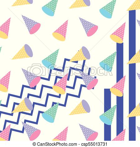 450x470 Memphis Style Pattern Repeating Geometric Shape Pastel Color