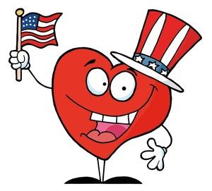 300x271 Free Patriotic Clip Art Image