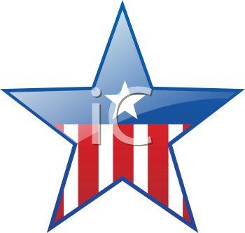 350x333 Patriotic Campaign Star