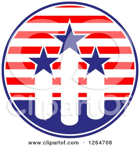 450x470 Clipart American Flag Shields With Dollar Symbol Eagle And USA