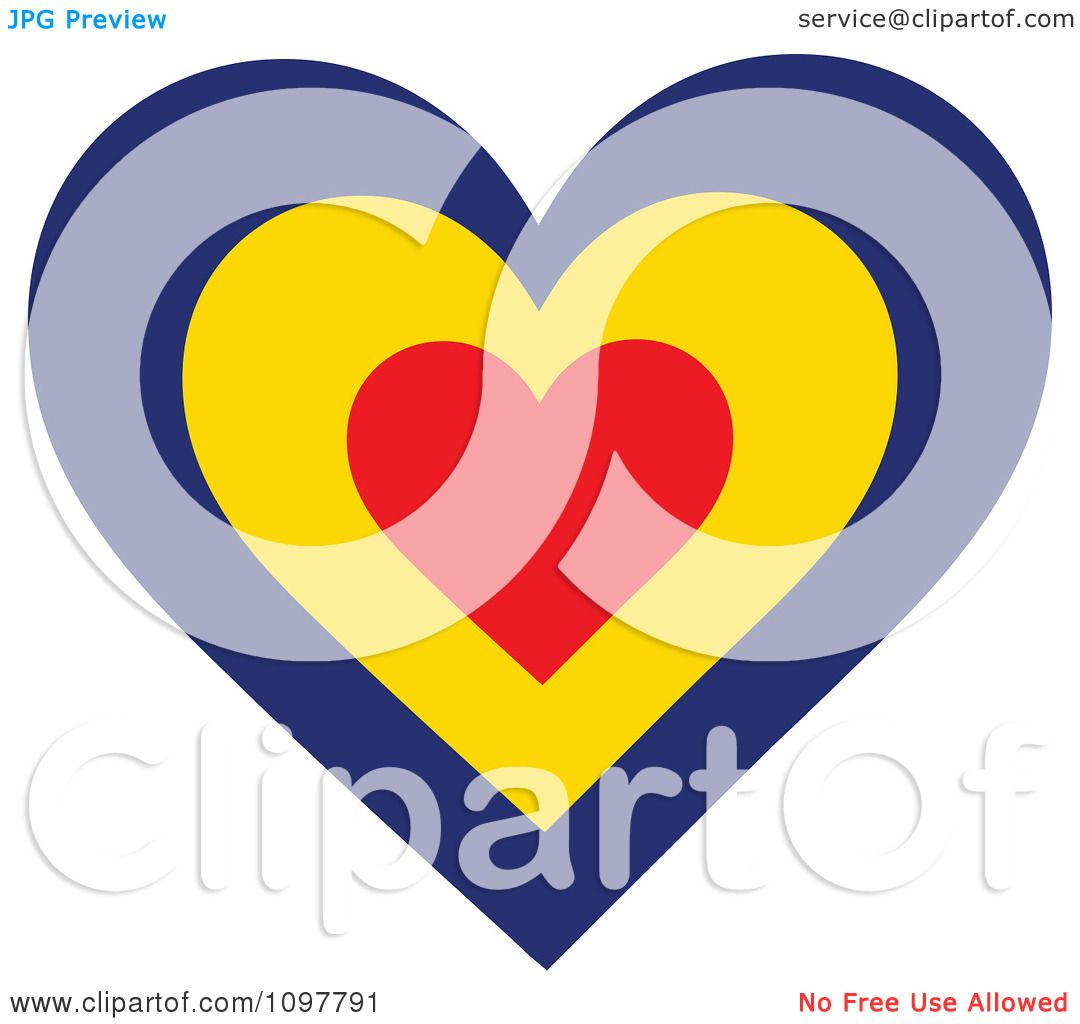 1080x1024 Clipart Patriotic Flag Heart With A Romanian Design