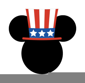 300x292 Patriotic Mickey Mouse Clipart Free Images