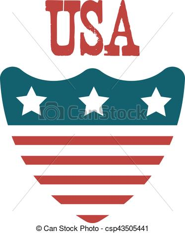 373x470 United States Of America Shield. Usa Patriotic Symbol Eps Vector
