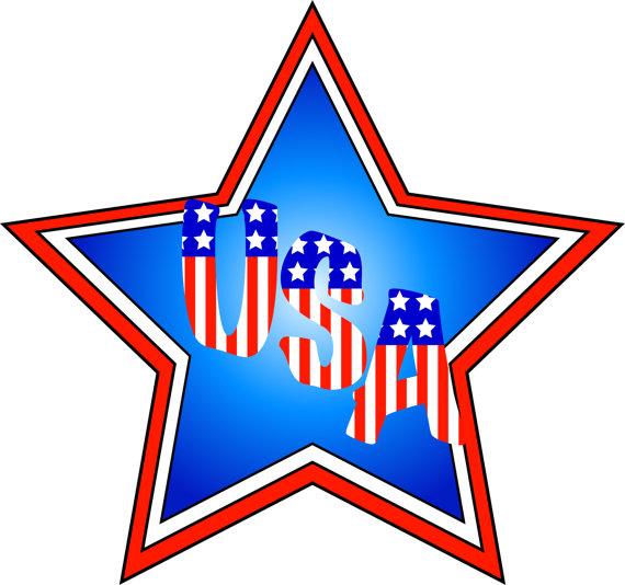 570x534 American Flag Clipart Patriotic Clip Art American Flags