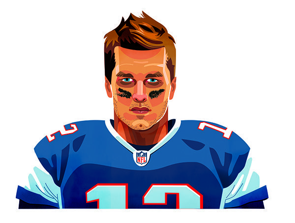 600x454 New England Patriots Clipart Nfl Player