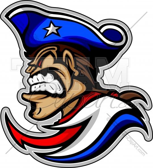 539x590 Patriot Mascot Clipart