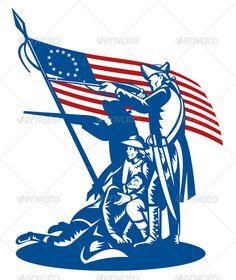 236x280 Patriots Football Mascot Vector