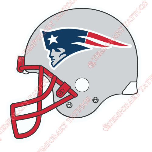 500x500 New England Patriots Temp Tattoos Customize Temporary Tattoos