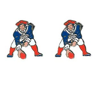 338x338 Patriots Throwback Earrings