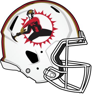 357x367 San Francisco 49ers Helmet Clipart