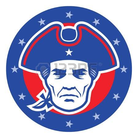 450x450 Head Clipart Patriot